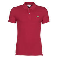 Clothing Men short-sleeved polo shirts Lacoste PH4012 SLIM Bordeaux