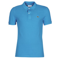 Clothing Men short-sleeved polo shirts Lacoste PH4012 SLIM Blue / Turquoise