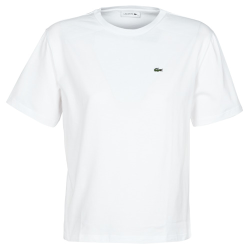 Clothing Women short-sleeved t-shirts Lacoste BENOIT White