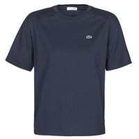 Clothing Women Short-sleeved t-shirts Lacoste ELOI Marine