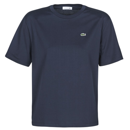 Clothing Women short-sleeved t-shirts Lacoste ELOI Marine