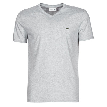 Clothing Men short-sleeved t-shirts Lacoste ROBERT Grey