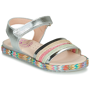 Shoes Girl Sandals Pablosky  Silver / Pink