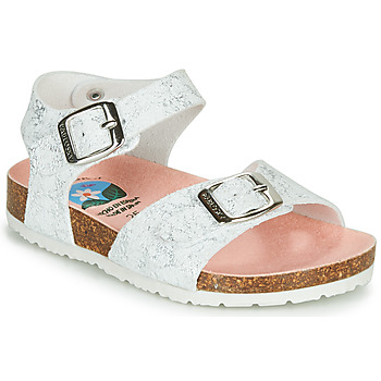 Shoes Girl Sandals Pablosky  White / Silver