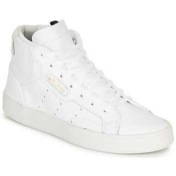 Shoes Women Hi top trainers adidas Originals adidas SLEEK MID W White