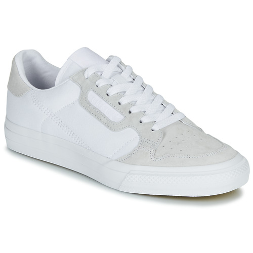 Shoes Low top trainers adidas Originals CONTINENTAL VULC White / Beige