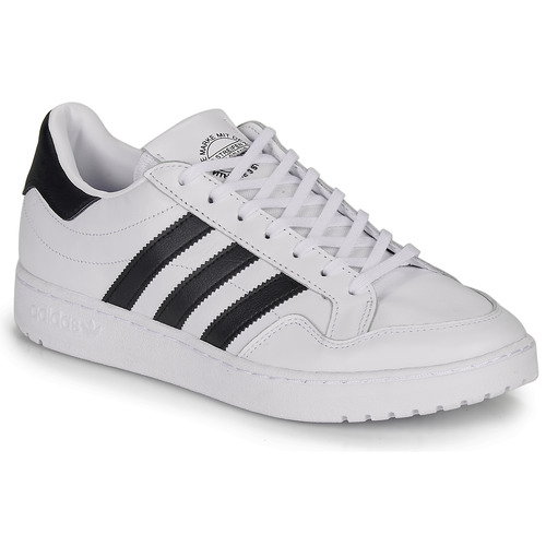 Shoes Low top trainers adidas Originals MODERN 80 EUR COURT White / Black