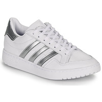 Shoes Low top trainers adidas Originals MODERN 80 EUR COURT W White / Silver