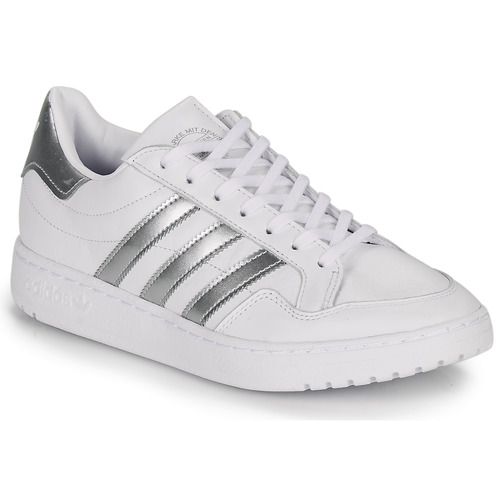 Shoes Women Low top trainers adidas Originals MODERN 80 EUR COURT W White / Silver