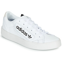 Shoes Women Low top trainers adidas Originals adidas SLEEK W White