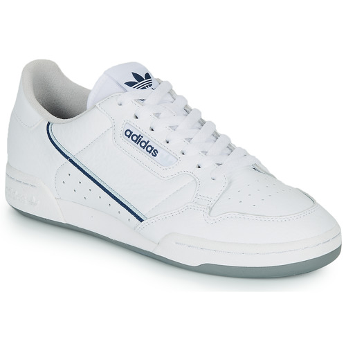Shoes Low top trainers adidas Originals CONTINENTAL 80 White / Blue