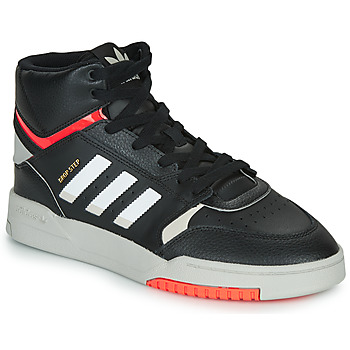 Shoes Men Hi top trainers adidas Originals DROP STEP Black / White