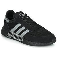 Shoes Low top trainers adidas Originals MARATHON TECH Black / White