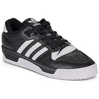 Shoes Low top trainers adidas Originals RIVALRY LOW Black / White