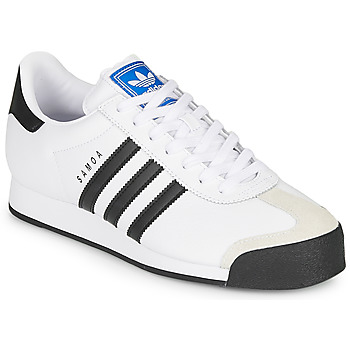 Shoes Low top trainers adidas Originals SAMOA White / Black