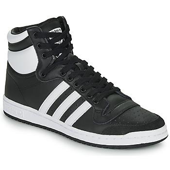Shoes Hi top trainers adidas Originals TOP TEN HI Black