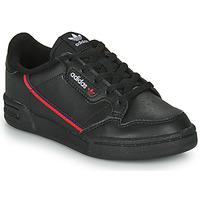 Shoes Children Low top trainers adidas Originals CONTINENTAL 80 C Black