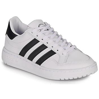 Shoes Children Low top trainers adidas Originals Novice J White