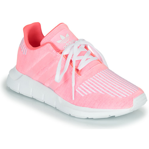 Shoes Girl Low top trainers adidas Originals SWIFT RUN J Pink