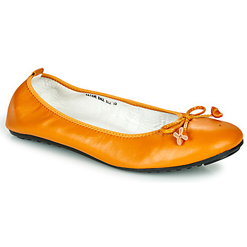 Shoes Women Flat shoes Mac Douglas ELIANE Ocre tan