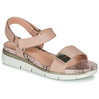 Shoes Women Sandals Stonefly ELODY 9 Camel / White