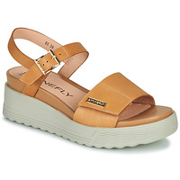 Shoes Women Sandals Stonefly PARKY 6 Camel / White