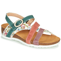Shoes Women Sandals Think JULIA Red / Green / White