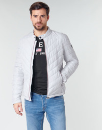 Clothing Men Duffel coats Guess SUPER FITTED JKT TRAVEL White