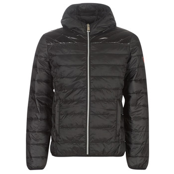 Clothing Men Duffel coats Guess SUPER LIGHT ECO-FRIENDLY JKT Black