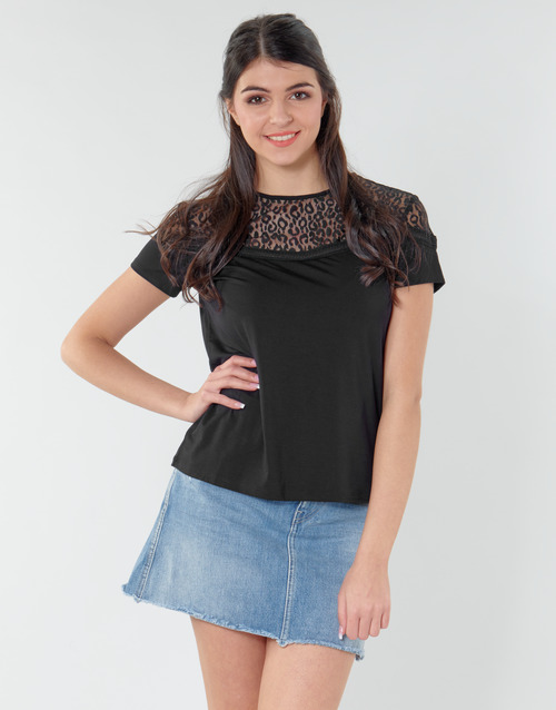 Clothing Women Tops / Blouses Guess ALICIA TOP Black
