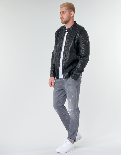 Guess QUILTED ECO LEATHER JACKET