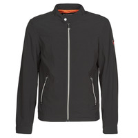Clothing Men Jackets Guess CUMMUTER JACKET Black