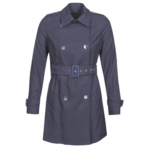 Clothing Women Trench coats Guess CECILIA TRENCH Marine