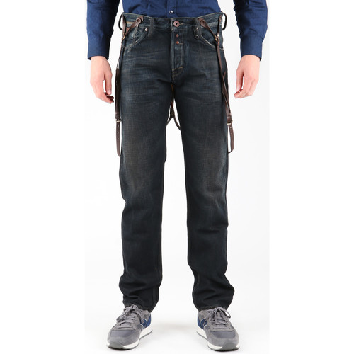 Clothing Men Straight jeans Guess Franklin Comfort M14A07D0HM1 Navy blue