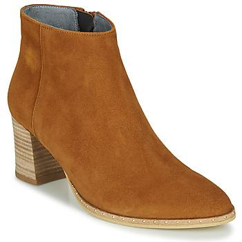 Shoes Women Ankle boots Myma LASTICO Camel