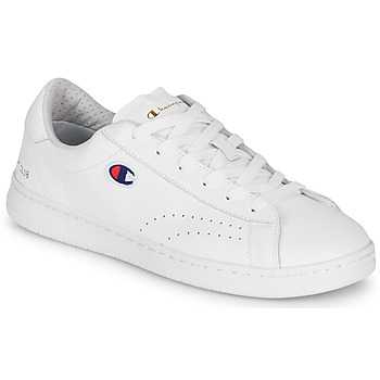 Shoes Men Low top trainers Champion COURT CLUB PATCH White