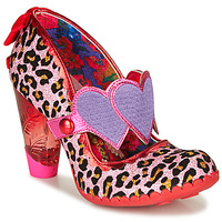 Shoes Women Heels Irregular Choice LOCKHART Red