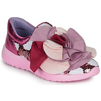 Shoes Women Low top trainers Irregular Choice RAGTIME RUFFLES Pink