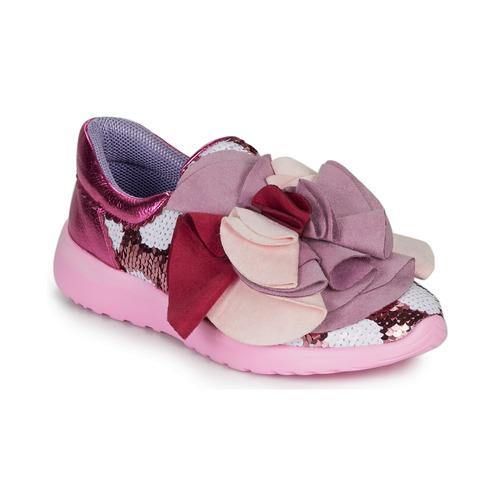 Shoes Women Low top trainers Irregular Choice RAGTIME RUFFLES Pink