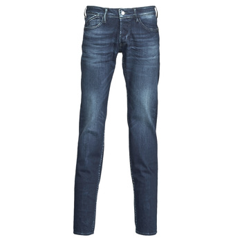 Clothing Men slim jeans Le Temps des Cerises 711 Blue / Dark