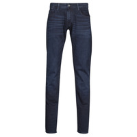 Clothing Men Slim jeans Le Temps des Cerises 711 JOGG Blue /  black