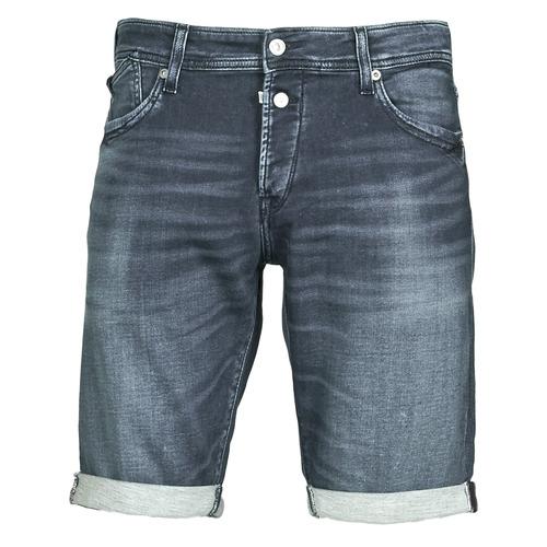 Clothing Men Shorts / Bermudas Le Temps des Cerises JOGG Blue / Dark