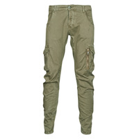 Clothing Men Cargo trousers Le Temps des Cerises ALBAN Kaki