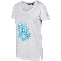 Clothing Women short-sleeved t-shirts Regatta Filandra III Graphic T-Shirt White White