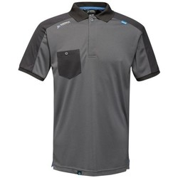 Clothing Men Short-sleeved polo shirts Professional OFFENSIVE Wicking TShirt Seal Grey Grey Grey
