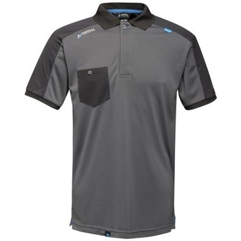 Clothing Men Short-sleeved polo shirts Professional OFFENSIVE Wicking TShirt Grey
