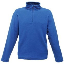 Clothing Men Fleeces Regatta Micro Zip Neck Fleece Blue Blue