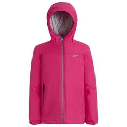 Clothing Children coats Regatta Hurdle II Waterproof Insulated Jacket Red Red