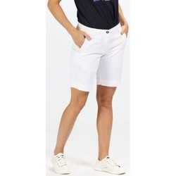 Clothing Women Shorts / Bermudas Regatta Solita Coolweave Shorts White White