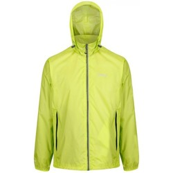 Clothing Men Jackets Regatta LYLE IV Waterproof Shell Jacket Green